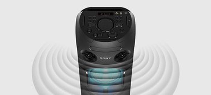 âm thanh loa Sony