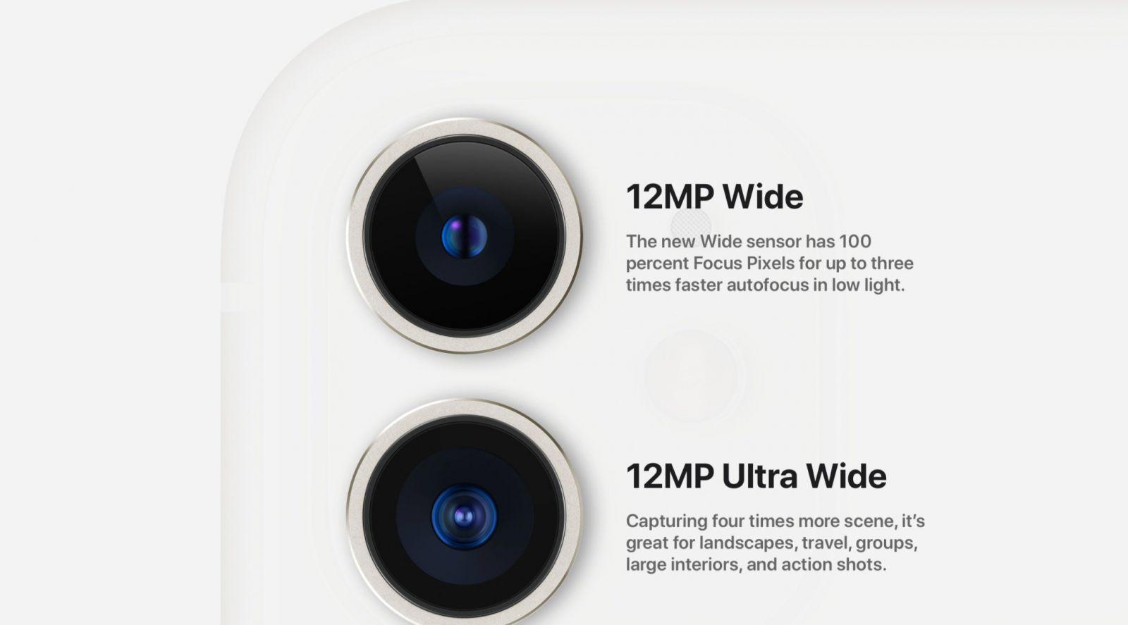 CAMERA KÉP  iPhone 11 - ĐIỆN MÁY GIÁ SỈ