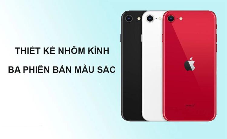 thiết kế Iphone SE 2020 64 GB MX9T2VN/A màu trắng