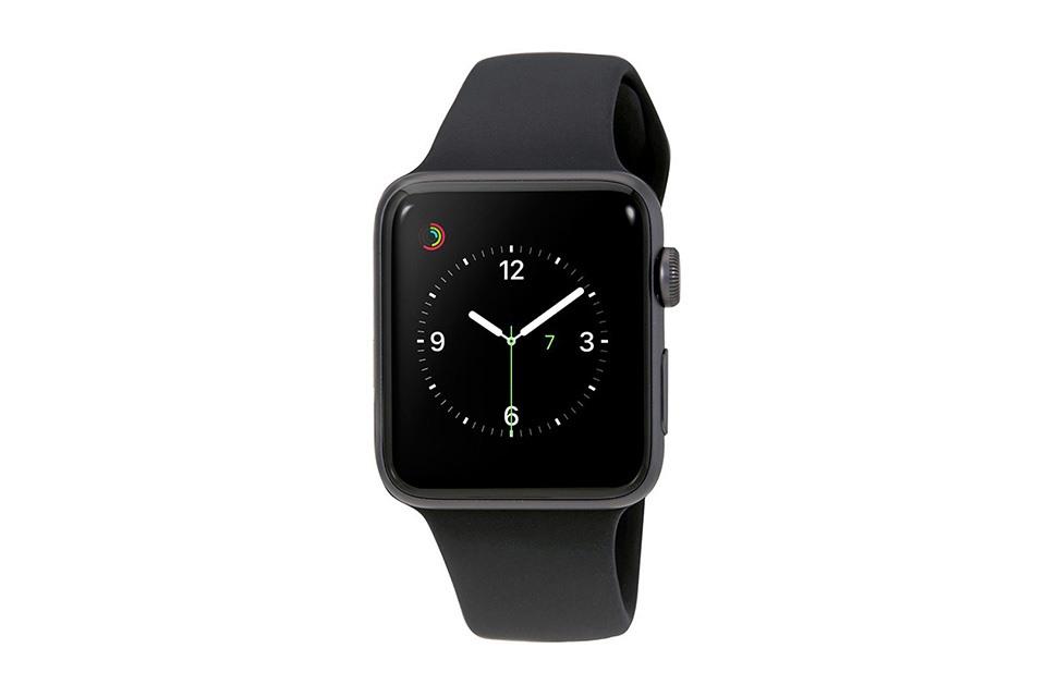 màn hình apple-watch-series-3-gps-42mm-vien-nhom-day-cao-su-den-mtf32vna