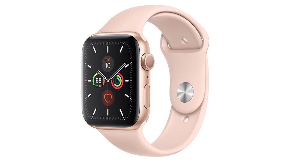 apple-watch-series-5-gps-40mm-vien-nhom-vang-day-cao-su-hong-mwv72vna