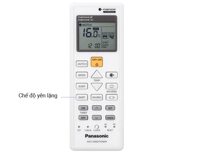 Hướng dẫn sử dụng remote máy lạnh Panasonic dòng AERO SERIES
