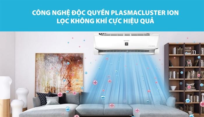 Top 5 máy lạnh có khả năng lọc không khí