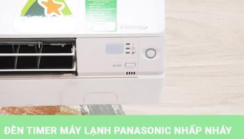 Nguyên nhân máy lạnh Panasonic bị lỗi timer và cách khắc phục