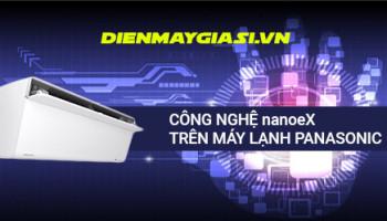Công nghệ NanoeX trên máy lạnh Panasonic