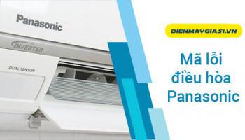 Mã lỗi điều hòa Panasonic