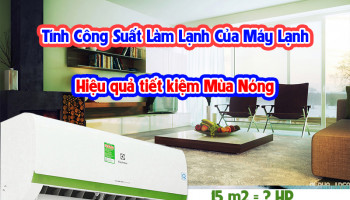 TINH TOAN CONG SUAT LAM LANH CUA MAY LANH