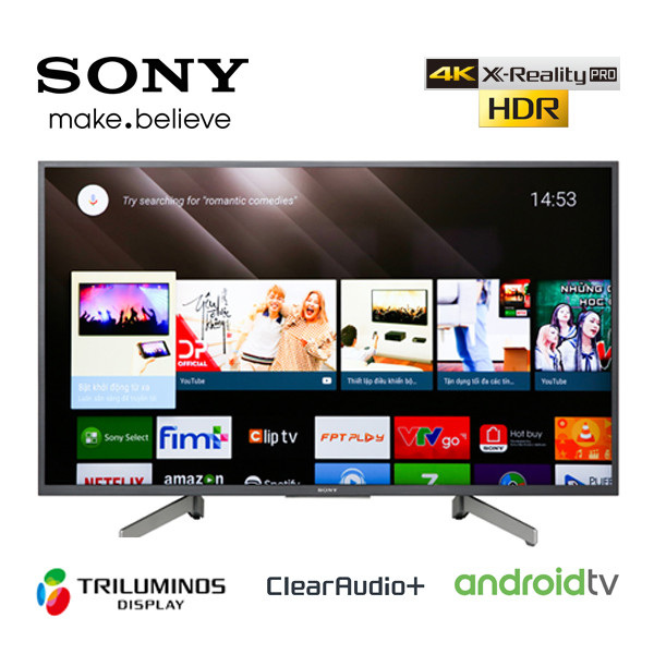 tivi android sony KD-43X8000G